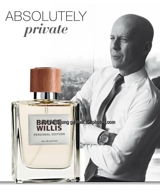 Bruce Willis setzt Zusammenarbeit mit LR Health & Beauty Systems fort, © Aussendung (21.01.2015)