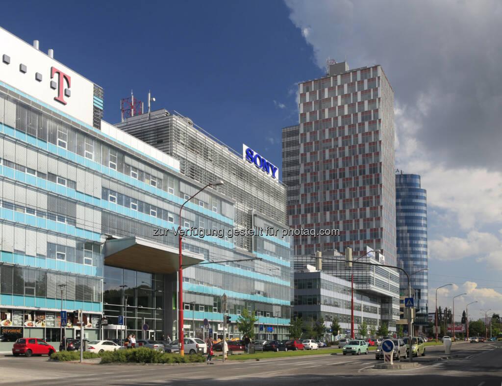 Erste Group Tochter co-refinanziert City Business Center in Bratislava mit EUR 34,5 Mio (Foto: Erste Group) (11.02.2013)