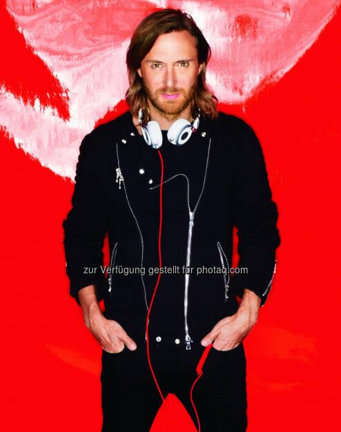 """David Guetta beim """"Lake Festival Vol. 6"""" feat. the top DJs of the world!, © Aussender (23.01.2015)"""