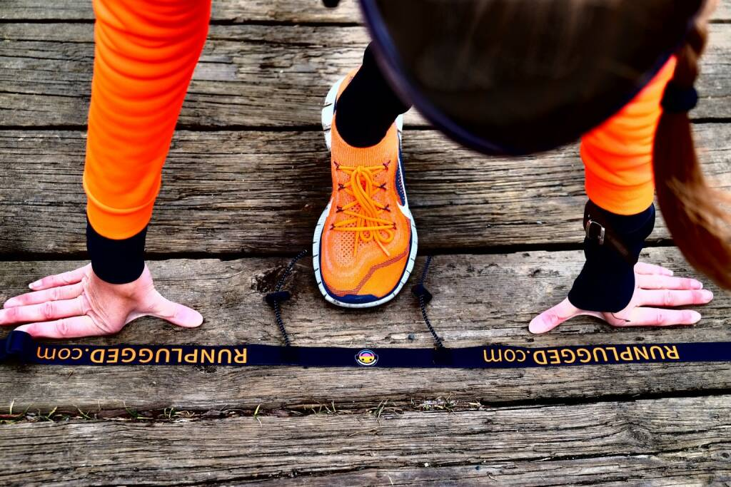 Runplugged Laufgurt Start (by Verena Jandrasits) (27.01.2015)