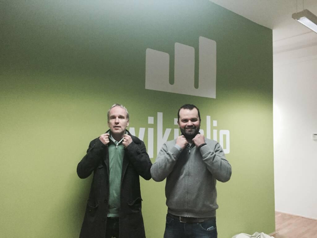 Christian Drastil, Stefan Greunz bei wikifolio (27.01.2015)