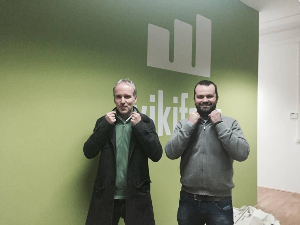 Damit der Kragen nicht platzt: Christian Drastil, Stefan Greunz bei wikifolio (27.01.2015)