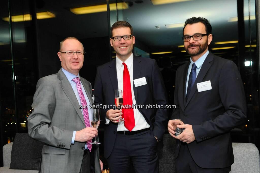 Modritsch, Martin Schreiber (Erste Sparinvest), Georg Strotzka (News on Video), © leisure.at/Sabine Klimpt (28.01.2015)