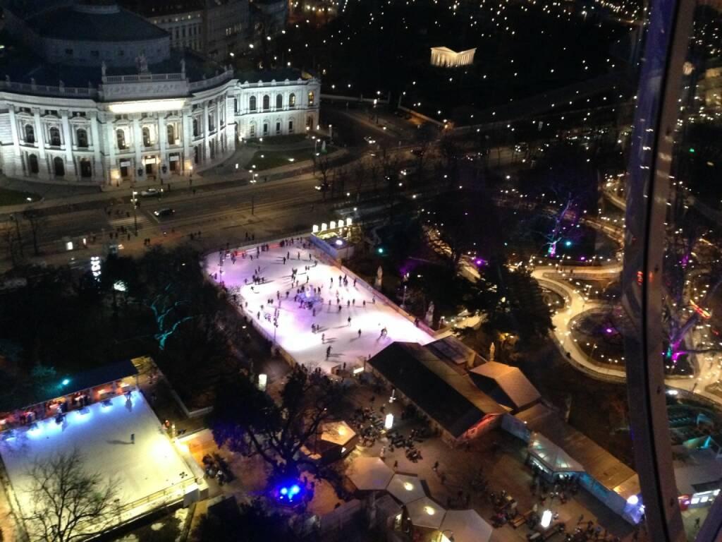 Wien Rathausplatz Burgtheater (28.01.2015)