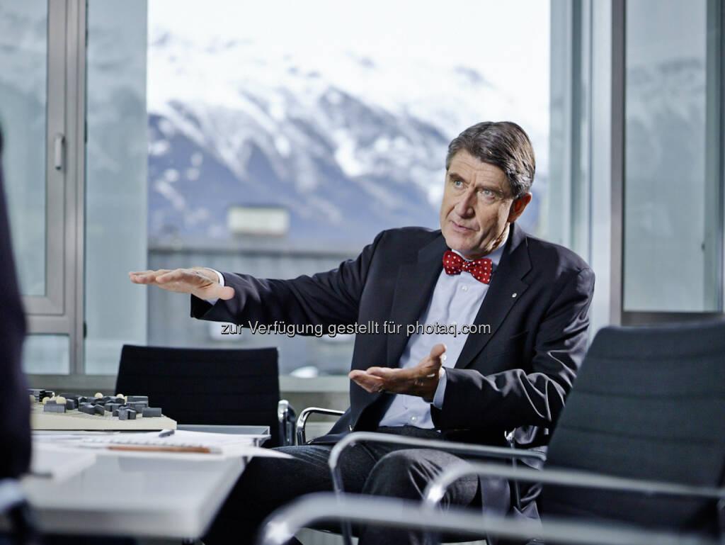Vorstandsvorsitzender von ATP architekten ingenieure: Univ.-Prof. Architekt Christoph M. Achammer: Pressestelle ATP architekten ingenieure: ATP im internationalen Ranking, © Aussender (29.01.2015)