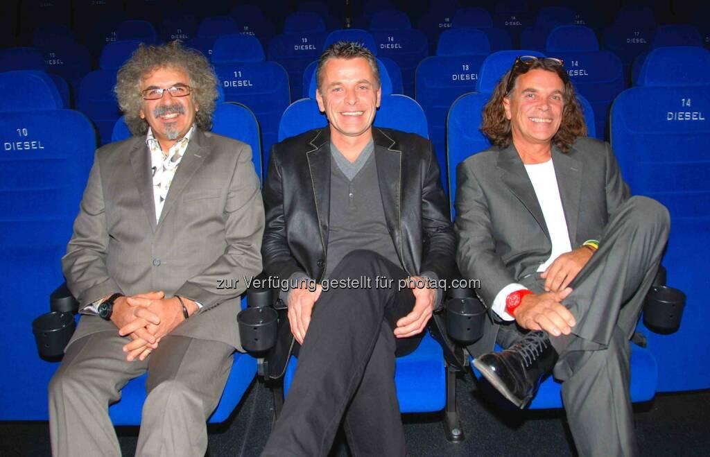 Andreas Diesel, Ernst Diesel Wolfgang Diesel: Diesel GmbH: Aus Movieplexx wird Dieselkino, © Aussendung (29.01.2015)