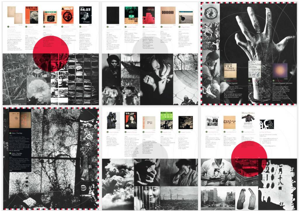 Clement Kauter - Hiroshima & Nagasaki (Fujisaki, Fukushima, Ishiguro, Tomatsu, Domon, Kawada, Ishiuchi, Tsuchida), Le Plac'Art Photo 2014, Beispielseiten, sample spreads - http://josefchladek.com/book/clement_kauter_-_hiroshima_nagasaki, © (c) josefchladek.com (01.02.2015)