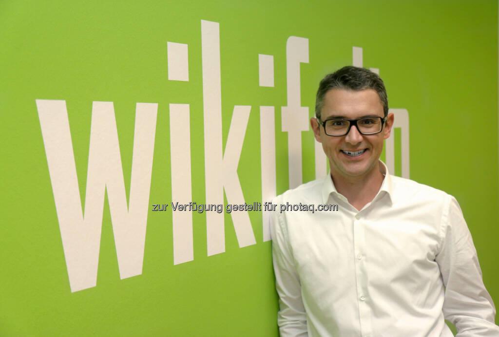 Stefan Kainz verstärkt Management von wikifolio.com, © Aussender (04.02.2015)