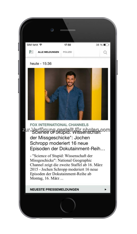news aktuell GmbH Presseportal App jetzt im neuen Design ...