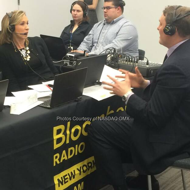Bloomberg Radio Trend in the industry has a lot to do with the Smart Beta index; a lot of the advisors and investors are looking for that flexibility -Rob Hughes, VP, @NasdaqIndexes  Source: http://facebook.com/NASDAQ (10.02.2015)
