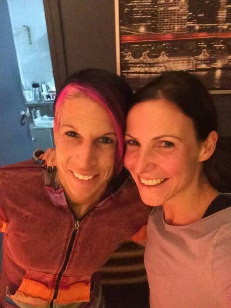 Conny Köpper, Sabrina Mockenhaupt  (11.02.2015)