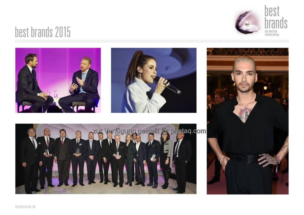 Serviceplan Gruppe: best brands 2015: Deutscher Marken-Oscar geht an Miele, Bose, Nike und Hugo Boss, © Aussendung (12.02.2015)