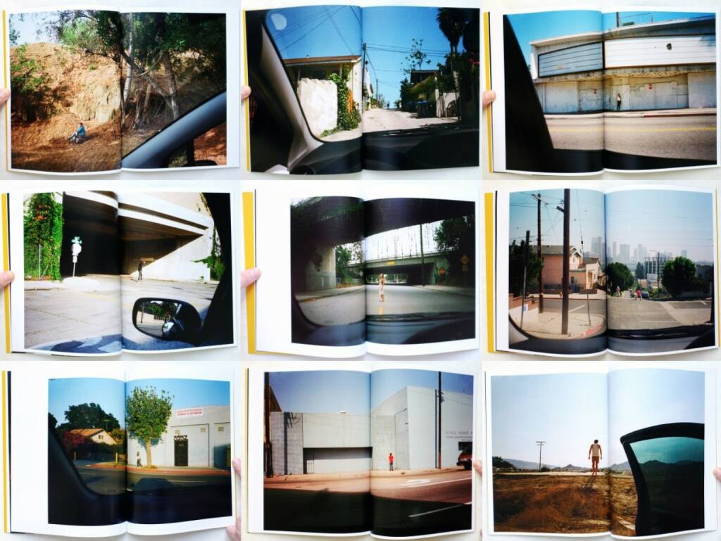 Patrick Gookin - LA By Car, Self published 2014, Beispielseiten, sample spreads - http://josefchladek.com/book/patrick_gookin_-_la_by_car, © (c) josefchladek.com (13.02.2015)