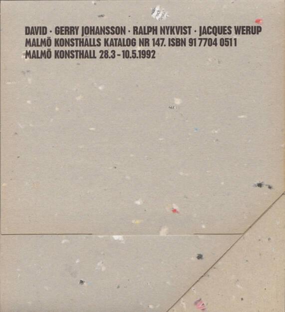 Gerry Johansson - Från Skåne, Malmö Konsthall 1992, Cover - http://josefchladek.com/book/gerry_johansson_-_fran_skane, © (c) josefchladek.com (18.02.2015)