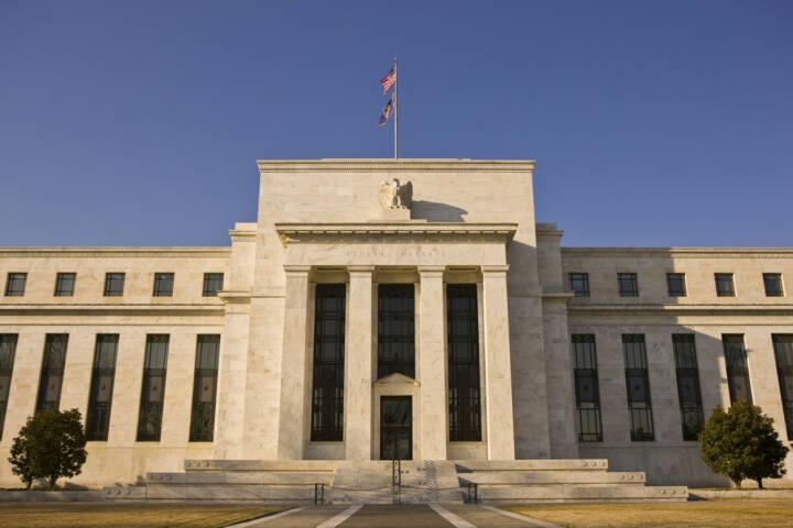 Federal Reserve, Amerikanische Zentralbank, <a href=http://www.shutterstock.com/gallery-2114807p1.html?cr=00&pl=edit-00>Rob Crandall</a> / <a href=http://www.shutterstock.com/editorial?cr=00&pl=edit-00>Shutterstock.com</a>, Rob Crandall / Shutterstock.com
