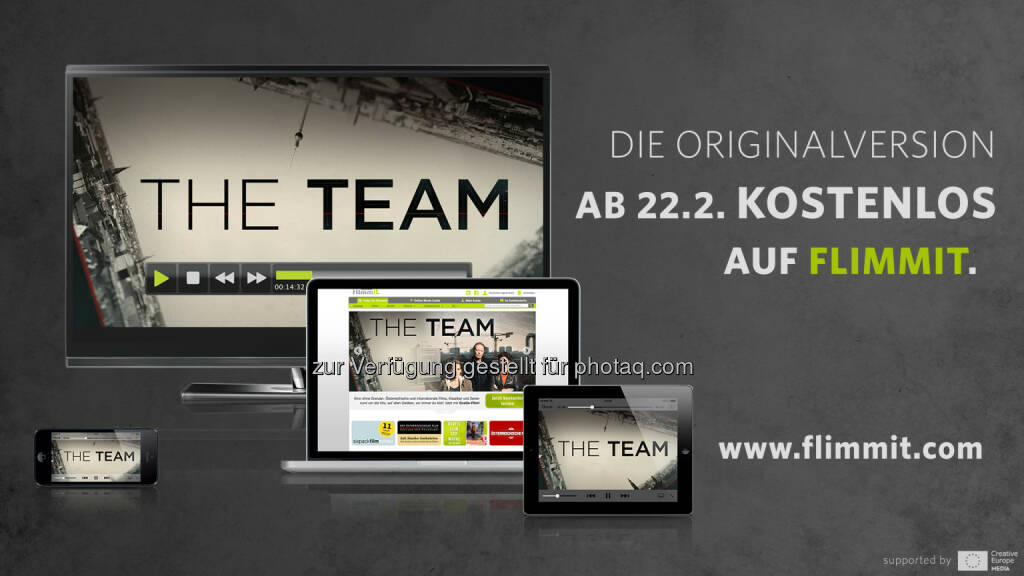Flimmit GmbH: Neue ORF-Eventserie vor TV-Premiere kostenlos auf VoD-Plattform Flimmit, © Aussendung (19.02.2015)
