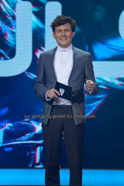 Manuel Rubey fungiert wieder als Host der Amadeus Austria Music Awards 2015. (C) Andreas Tischler, © Aussender (20.02.2015)