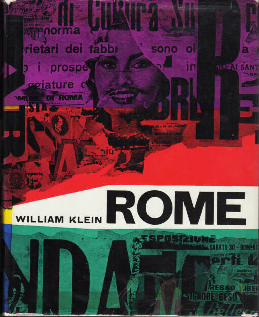 William Klein - Rome, Giangiacomo Feltrinelli Editore 1959, Cover - http://josefchladek.com/book/william_klein_-_rome, © (c) josefchladek.com (21.02.2015)
