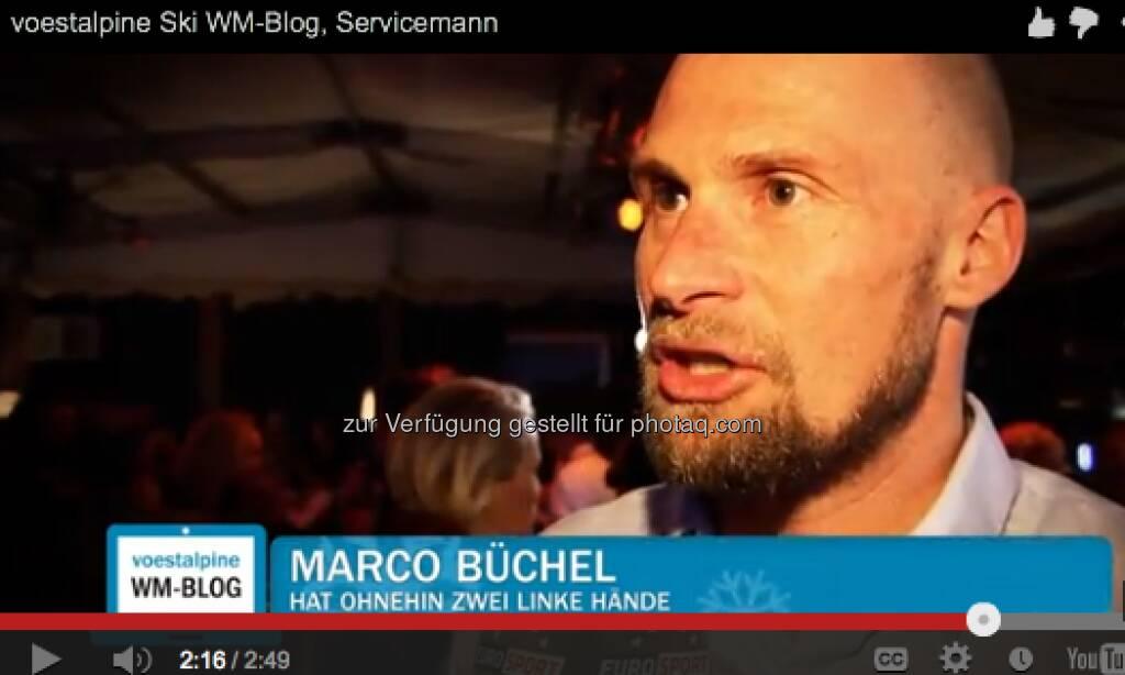 Marco Büchel sagt, wie wichtig sein Servicemann war http://voestalpine-wm-blog.at/2013/02/15/wie-wichtig-ist-der-service-mann/#.UR4-3I7aK_Q, &copy; <a href=