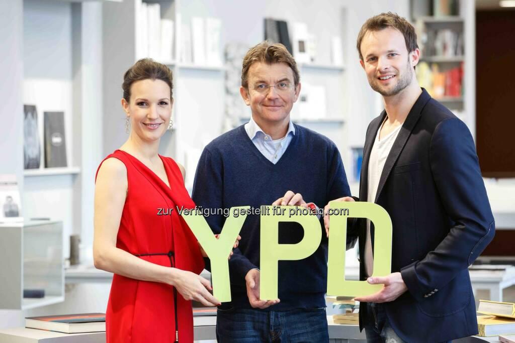 """Barbara Fleissner, Hannes Jagerhofer, Florian Rudig: YPD Challenge: """"Die YPD-Challenge – Gewinn gegen die Besten!"""", © Aussendung (23.02.2015)"""