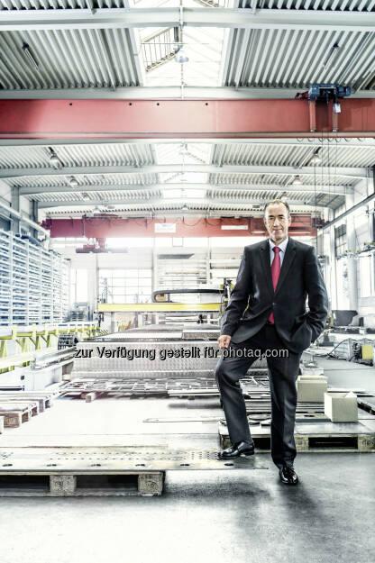 Jan Willem Jongert, CEO der Schwarzmüller Gruppe: Schwarzmüller 2014 um 37 Millionen Euro gewachsen, © Aussender (25.02.2015)