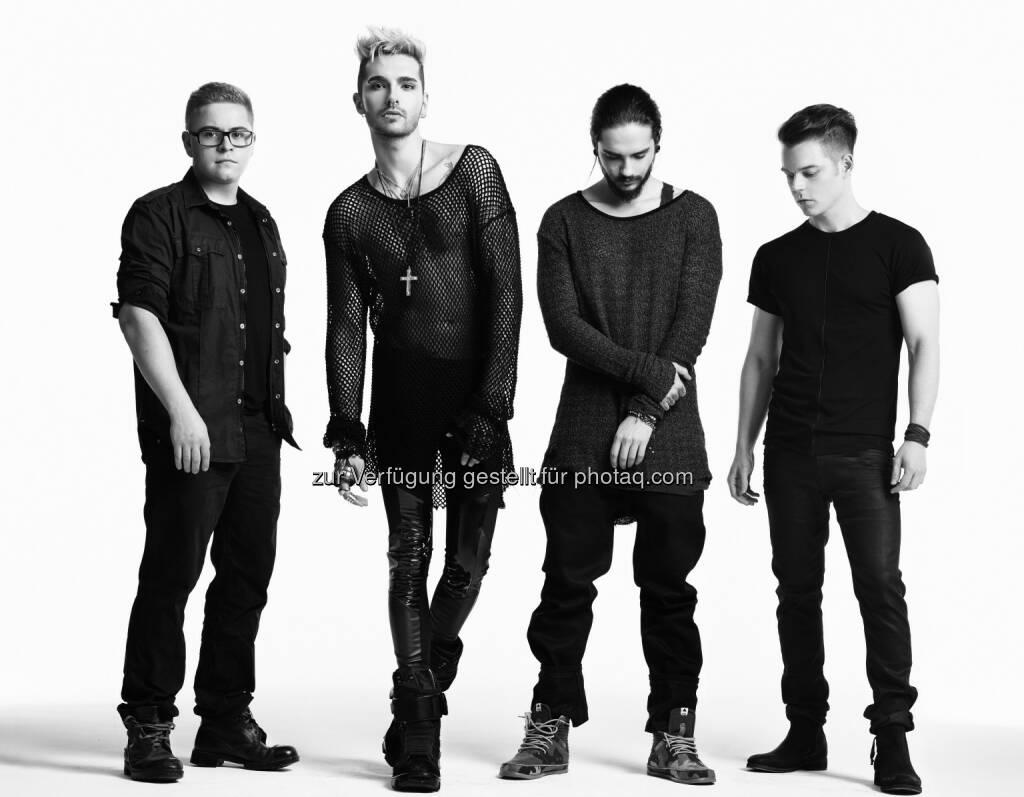 Tokio Hotel: Universal International Division: Tokio Hotel: neue Single im März, obs/Universal International Division/© Lado Alexi, © Aussender (26.02.2015)