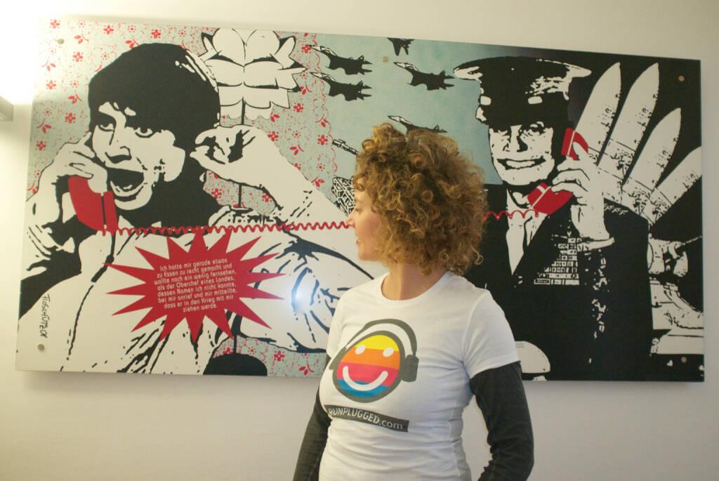 Call Telefon - Sabine Hoffmann Ambuzzador für Runplugged (01.03.2015)