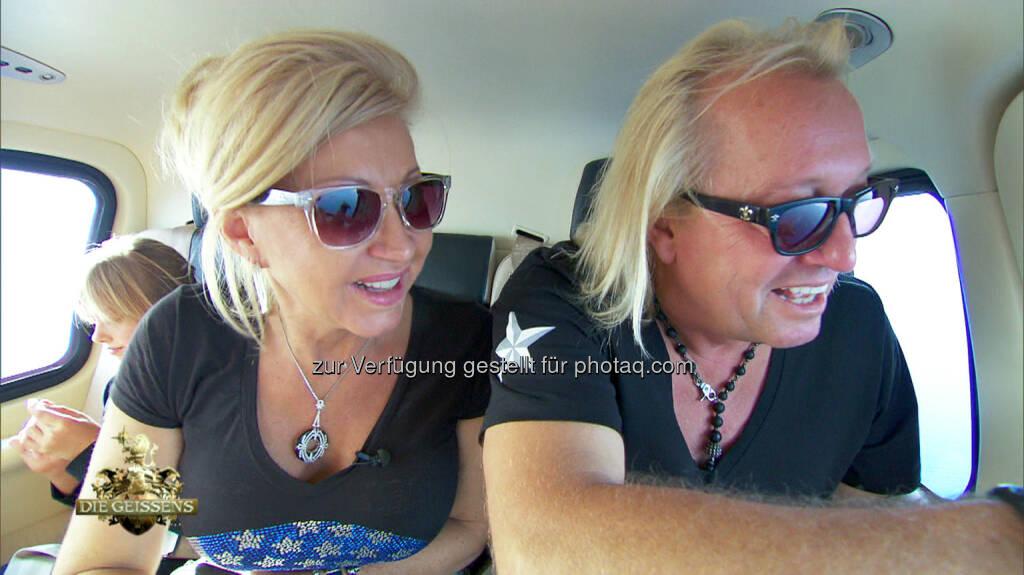 Die Geissens: RTL II: Wenn bei Capri ... - Die Geissens auf großer Mittelmeerfahrt, © Aussendung (02.03.2015)