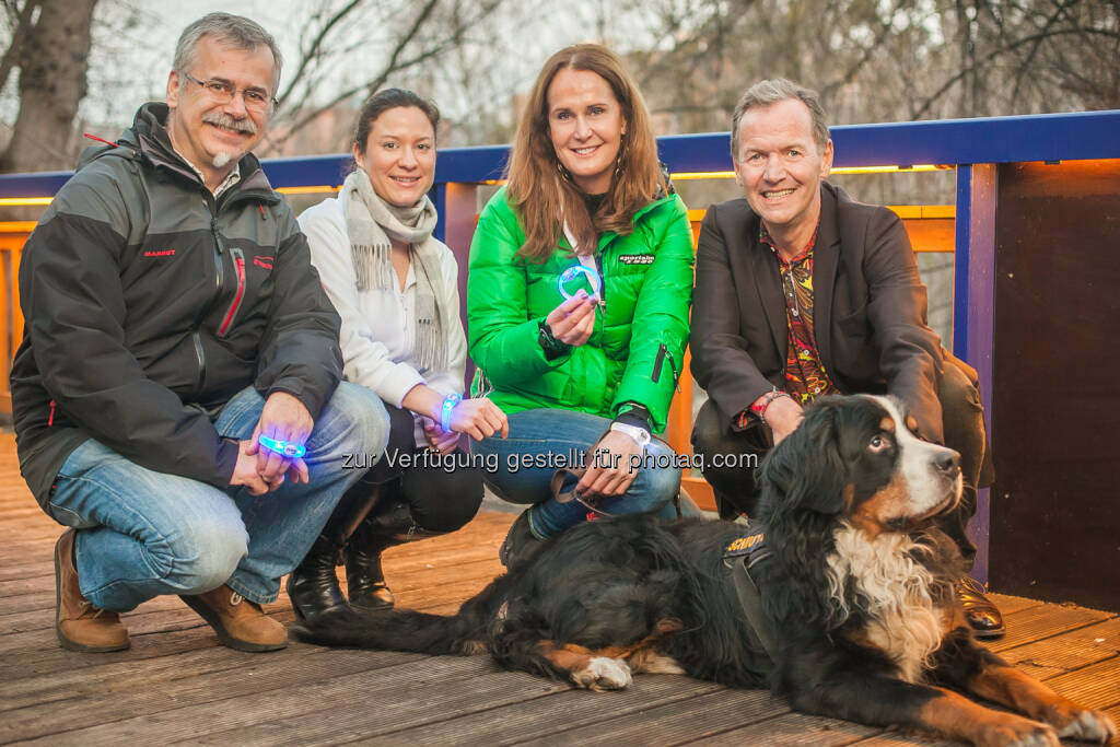 Karl Weissenbacher, Catherina Gibel, Maggie Entenfellner, Ossi Schellmann, © Purina PetCare (02.03.2015)