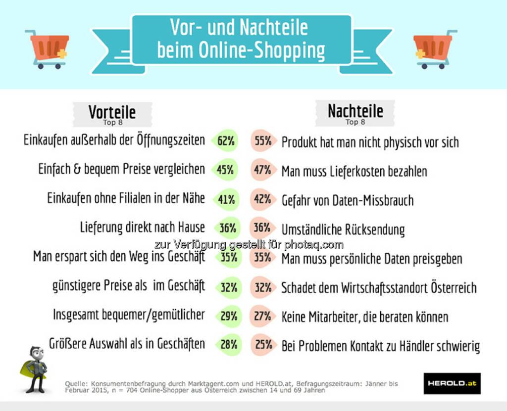 Herold Business Data GmbH: Marketagent.com und Herold präsentieren den Shopper-Report 2015 – online vs. offline, © Aussender (04.03.2015)