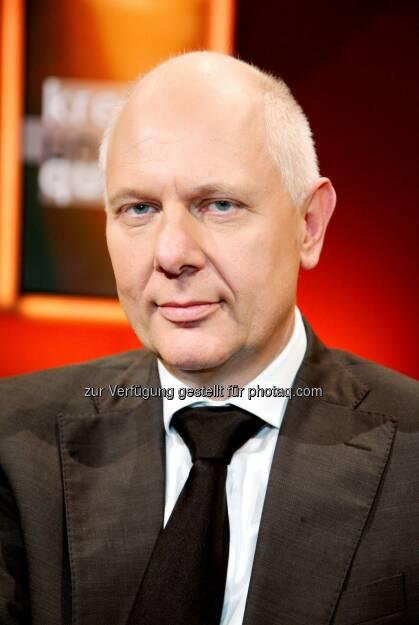 "Matthias Horx: TÜV Austria: Industrie 4.0, Smart Tech: ""Vieles ist überzüchteter Unsinn"" – Live Stream mit Matthias Horx, 5.3. www.tuv.at/horx, © Aussendung (04.03.2015)"