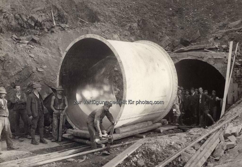 Ein Streifzug durch das VERBUND-Bildarchiv: 1924 arbeitete man intensiv am Wasserstollen für das Kraftwerk Arnstein in der Steiermark. Mehr zum Kraftwerk unter www.verbund.com/arnstein  Source: http://facebook.com/verbund, © Aussender (05.03.2015)