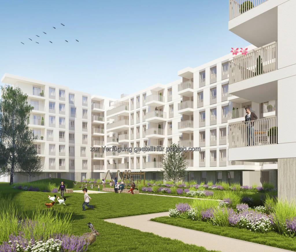 CA Immobilien Anlagen AG: CA Immo startet Wohnprojekt im Wiener Quartier Lände 3, © Aussendung (05.03.2015)