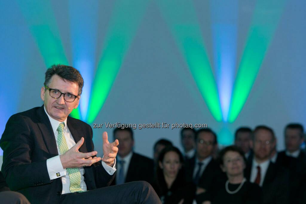 Bernhard Gröhs (Managing Partner, Deloitte Österreich), © Martina Draper für Börse Express (06.03.2015)