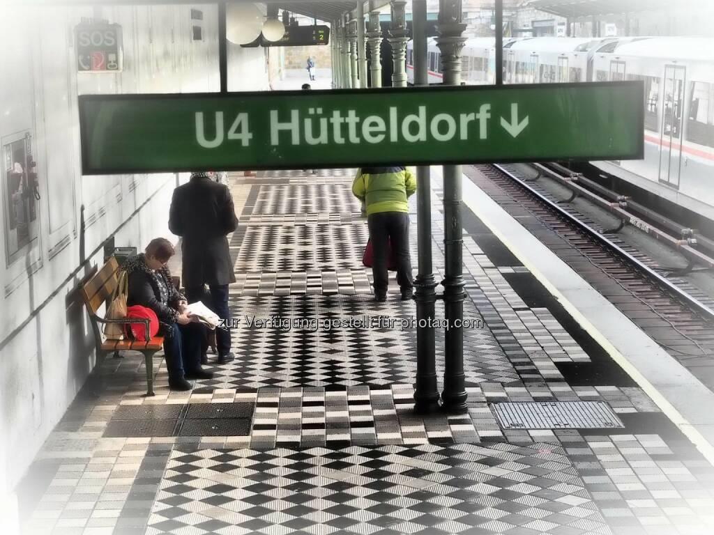 Wien U4 Hütteldorf, © Dirk Herrmann (08.03.2015)