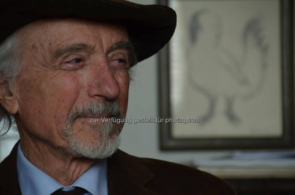Arik Brauer erhält Amadeus Award für sein Lebenswerk. (C) Filmarchiv  , © Aussendung (09.03.2015)
