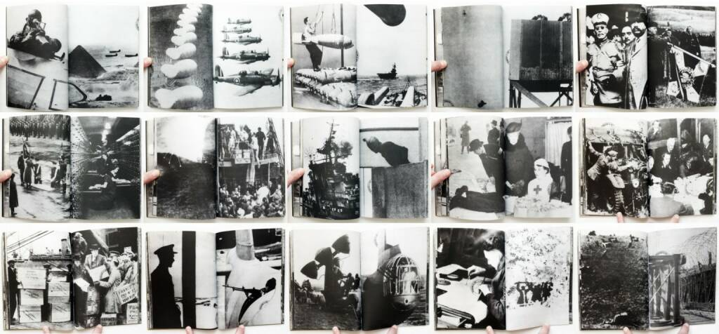 Fabio Mauri - Linguaggio è guerra / Language is war, Massimo Marani Editore 1975, Beispielseiten, sample spreads - http://josefchladek.com/book/fabio_mauri_-_linguaggio_e_guerra_language_is_war, © (c) josefchladek.com (11.03.2015)