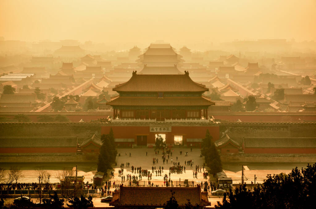 China, Peking, Verbotene Stadt und Kaiserpalast, http://www.shutterstock.com/de/pic-243064399/stock-photo-imperial-palace-in-beijing-view-from-above-china.html, © www.shutterstock.com (11.03.2015)