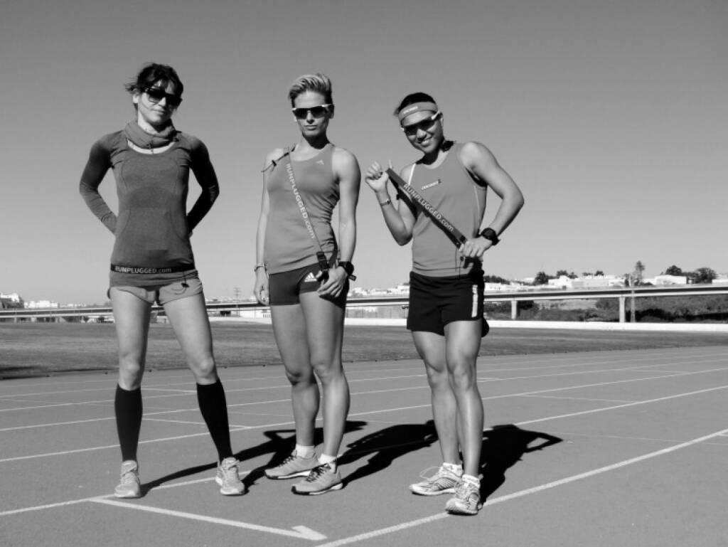 Tristyle Runplugged Runners mit dem Runplugged Laufgurt, mehr unter http://www.photaq.com/page/index/1675 (15.03.2015)