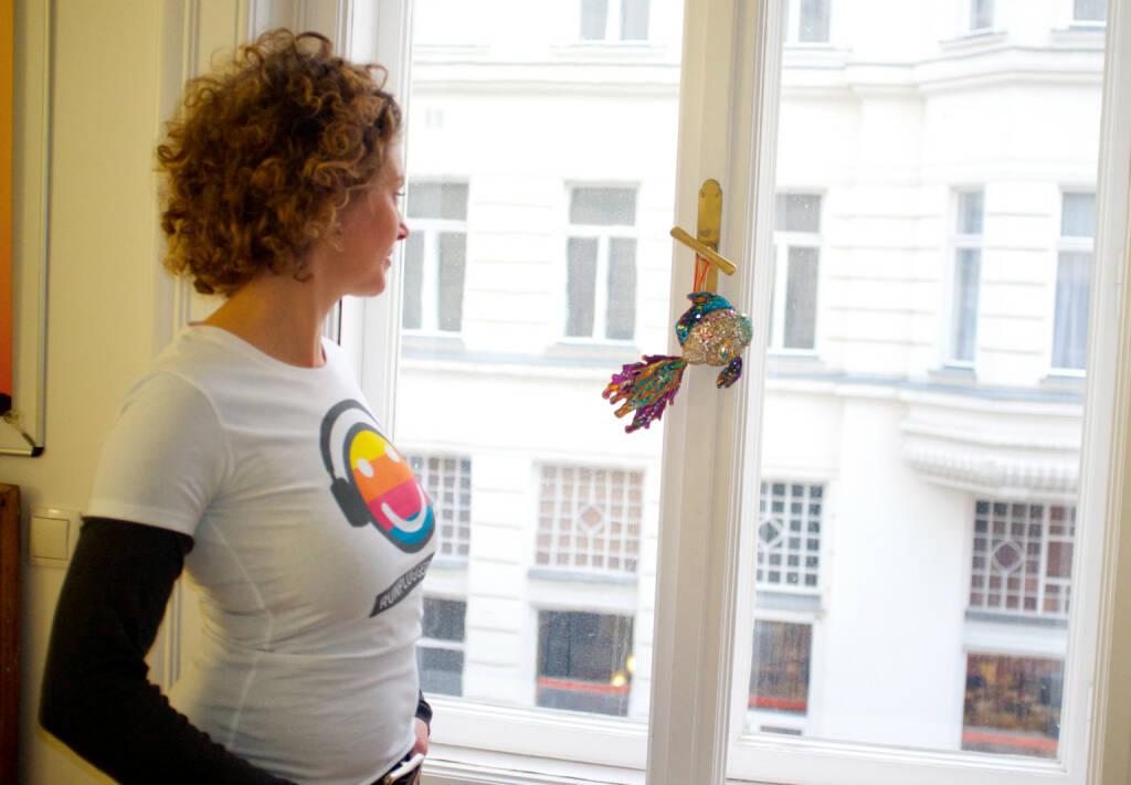 ambuzzador-Chefin Sabine Hoffmann trägt Runplugged. Mehr Bilder aus diesem Set unter http://www.photaq.com/page/index/1747, © Diverse  (16.03.2015)