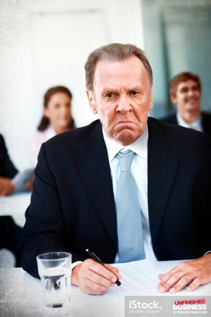 Timothy McWinters is not an impressed business man, iStock, Getty Images (16.03.2015)