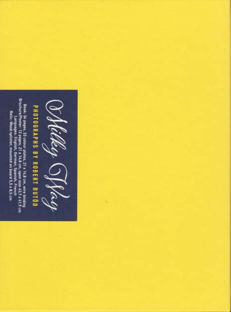 Robert Rutöd - Milky Way, Self published 2014, Cover - http://josefchladek.com/book/robert_rutod_-_milky_way, © (c) josefchladek.com (17.03.2015)