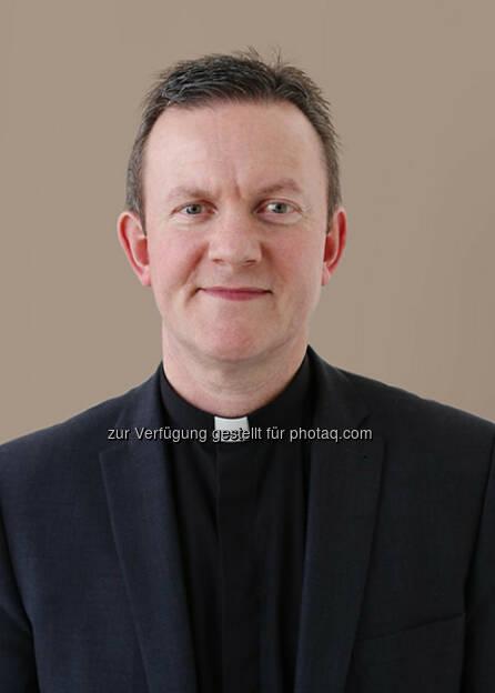 Hochwürden Mark Poulson zieht für die anglikanische Glaubensgemeinschaft in das Direktorium des Kaiciid Dialogzentrums in Wien ein, © Aussender (20.03.2015)