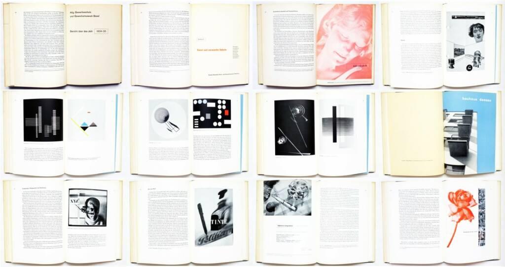 Jan Tschichold - Typographische Gestaltung, Benno Schwabe & Co. 1935, Beispielseiten, sample spreads - http://josefchladek.com/book/jan_tschichold_-_typographische_gestaltung, © (c) josefchladek.com (23.03.2015)