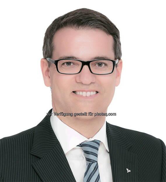 Wolfgang Schauer - Neuer Vorstandsdirektor der Volksbank Wien-Baden (Bild: Volksbank Wien-Baden AG), © Aussender (25.03.2015)
