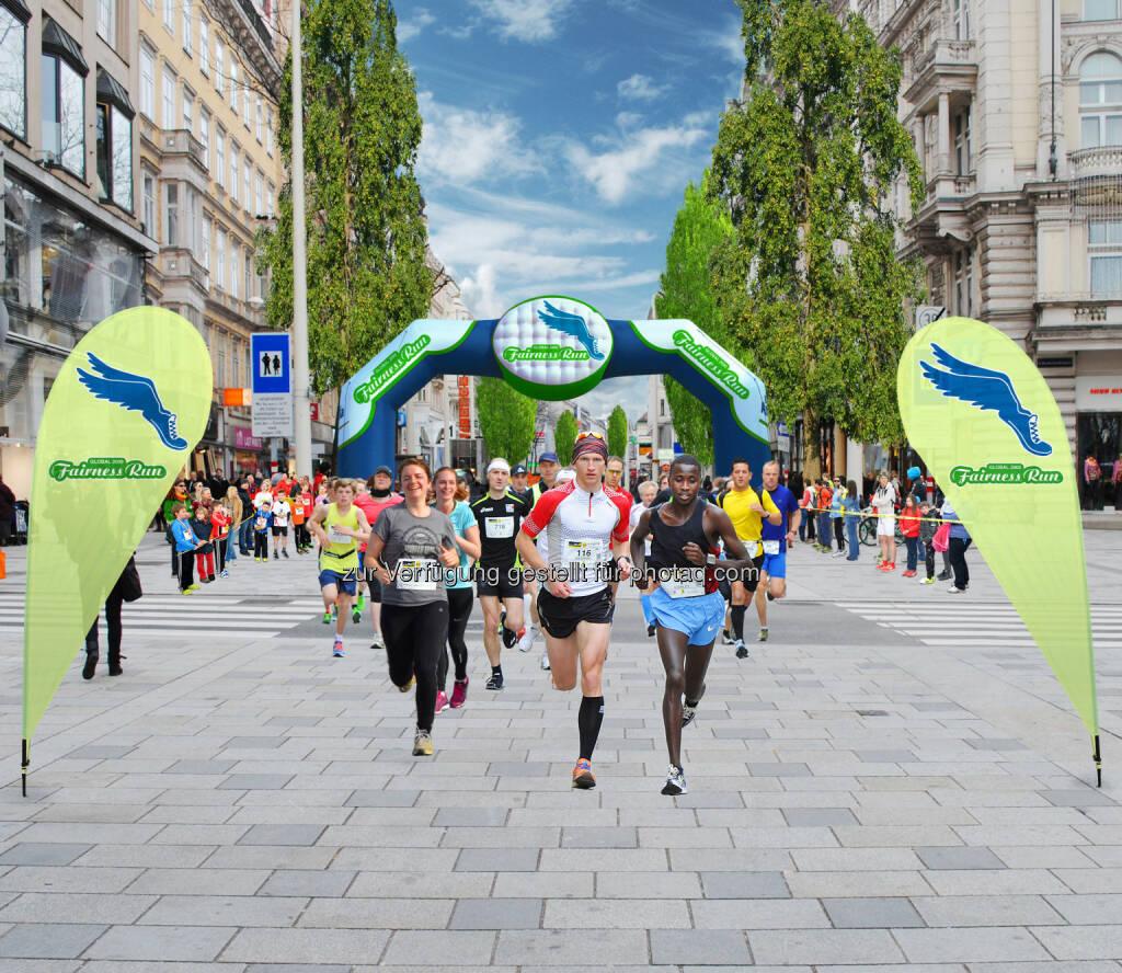 Am 18. Juni 2015 geht der Global 2000 Fairness Run presented by Pro Planet mit mehreren Laufdisziplinen und einem bunten Rahmenprogramm auf der Wiener Mariahilfer Straße in die zweite Runde. , © Aussendung (27.03.2015)