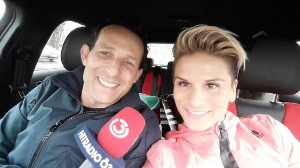 Tom Walek, Elisabeth Niedereder: Die Tristyle Runplugged Runnerin ist Ö3-Challenge Coach für den Wien-Marathon (27.03.2015)