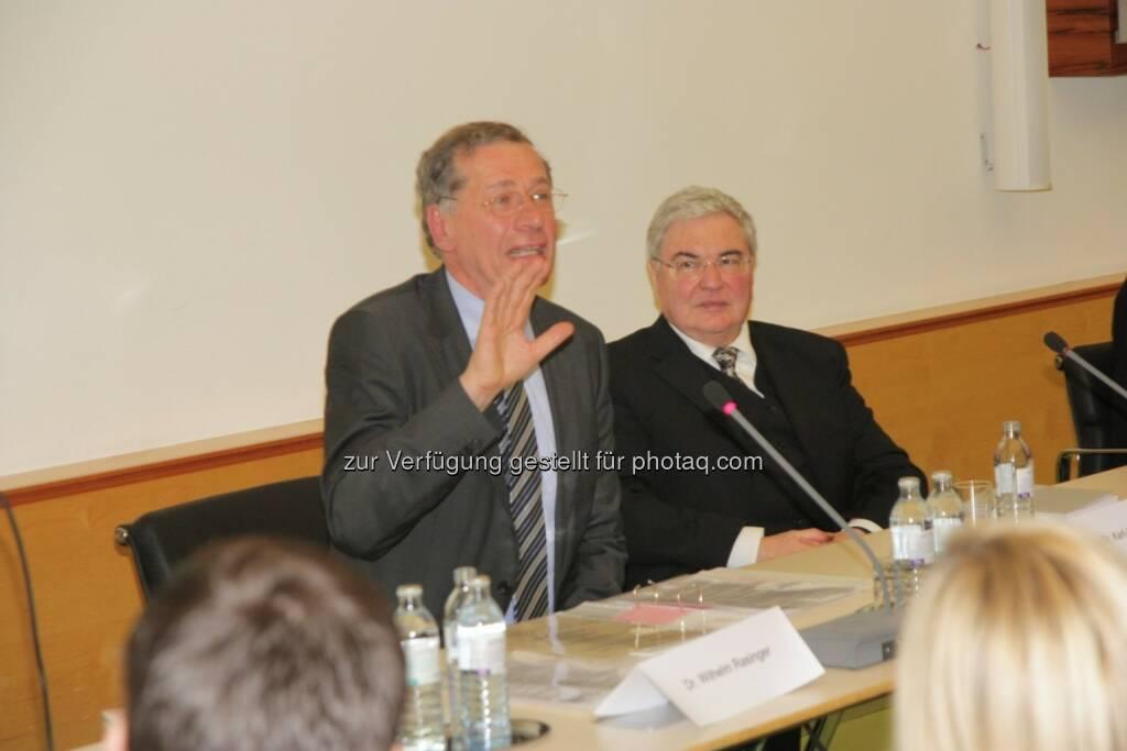 Wilhelm Rasinger, Karl-Heinz Brodbeck, © IVA (20.02.2013)