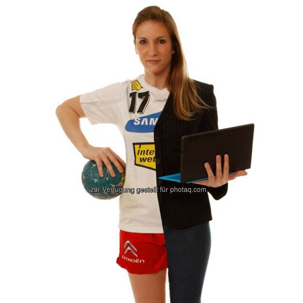 Isabel Plach http://www.visionrun.at im Sport und Börse-Modus by http://www.picture-it.at, © Aussendung (28.03.2015)