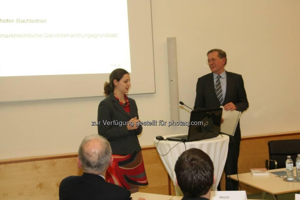 Anna Doblhofer-Bachleitner, Wilhelm Rasinger, © IVA (20.02.2013)